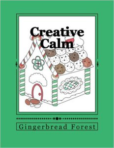 creative calm 23 Gingerbread Forest